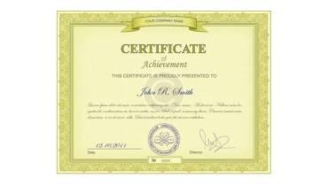 Crtificate 2